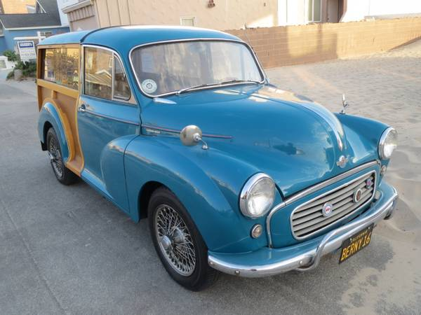 1960 Morris Minor Traveller Woody