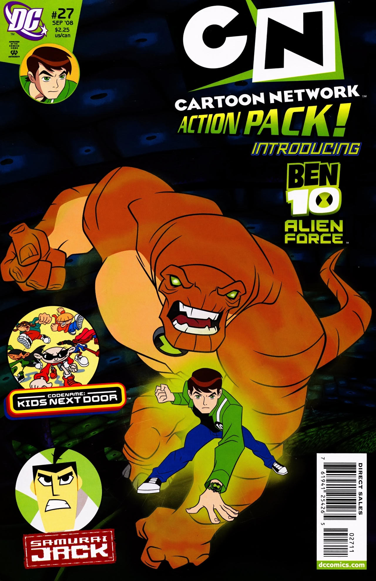 Cartoon Network Action Pack 27 Page 1