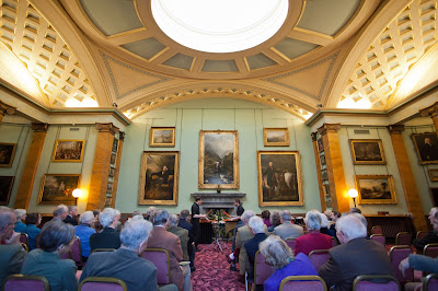 Music at Paxton: Audience enjoying a concert in the Picture Gallery at Paxton House