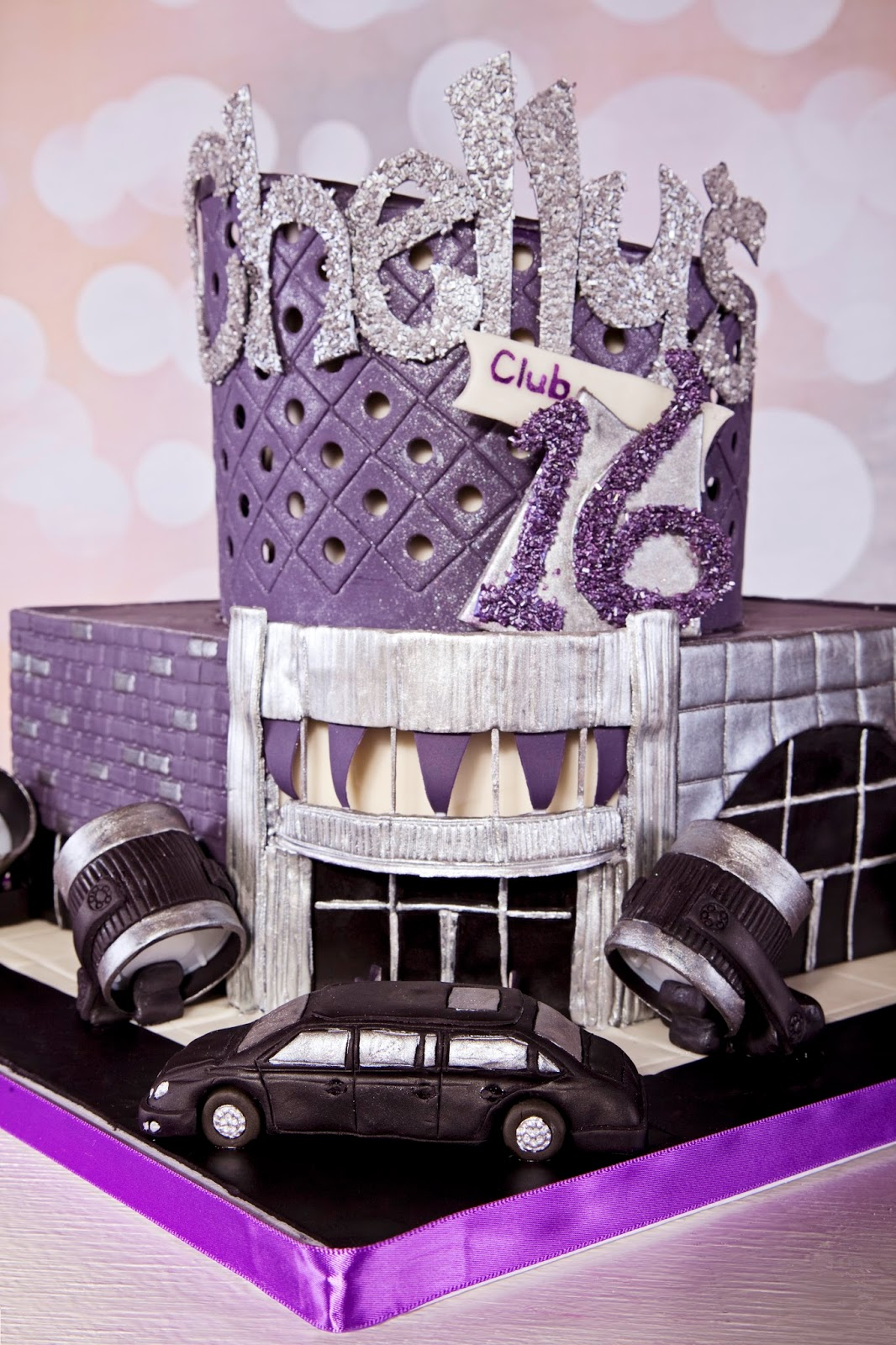 Delectable Cakes Old School Vegas Themed Sweet 16