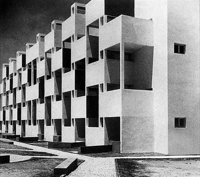 Viviendas ATBAT en Casablanca | George Candilis + Shadrach Woods + Vladimir Bodiansky | Nid d'abeille | 1952-1953
