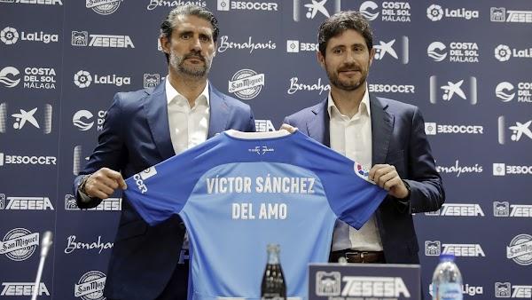 """Víctor Sánchez - Málaga -: """"Creemos en el potencial de los jugadores para afrontar ese reto"""""""