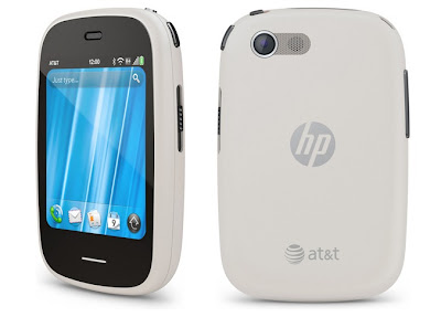 HP Veer 4G in white