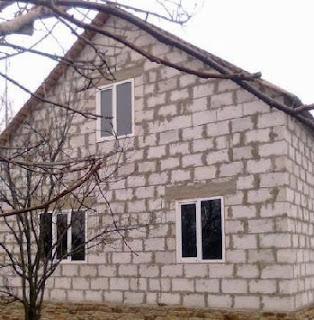 Дом из газоблоков фото