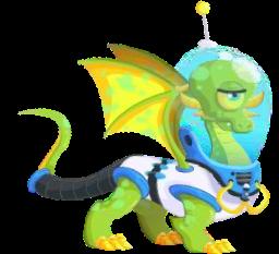 Dragon City Mars Ejderhası