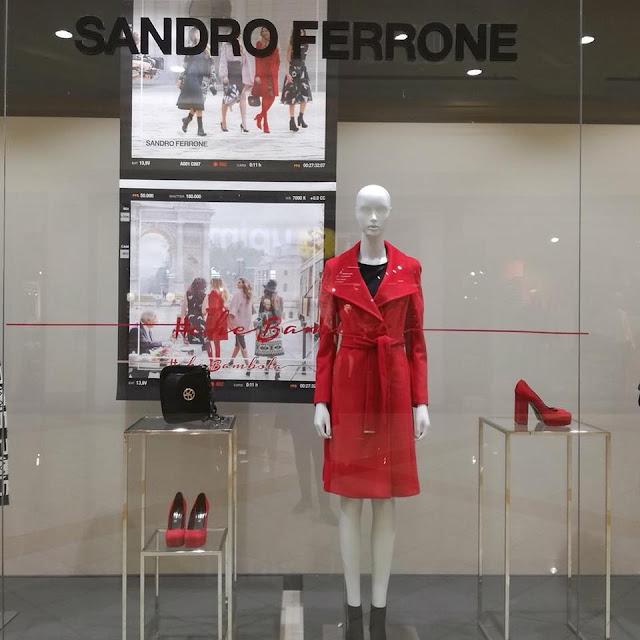sandro ferrone cappotto rosso