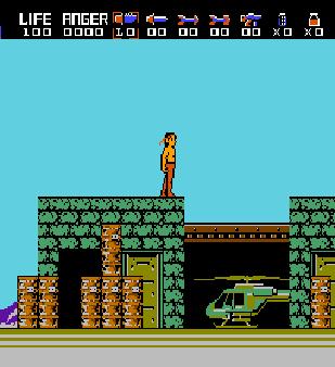 【FC】第一滴血:藍波(Rambo)原版+無敵版,融合RPG元素的動作遊戲!