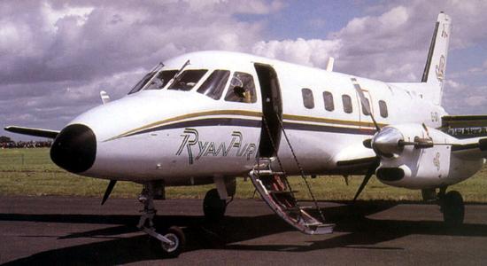 Ryanair's Bandeirante 1985