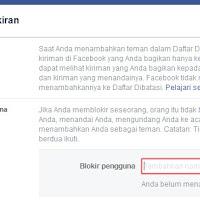 Cara Memblokir Facebook Orang Lain atau Teman