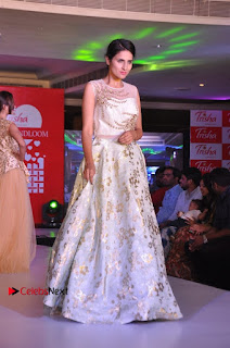 South Indian Celebrities Pos at Love For Handloom Collection Fashion Show  0128.jpg