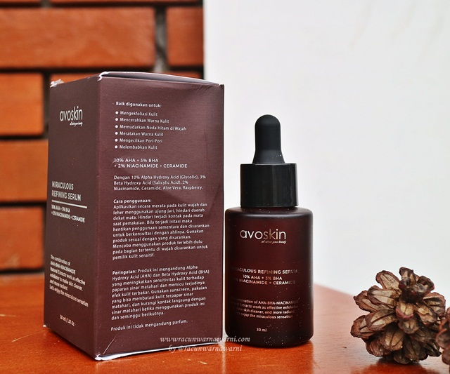 Ingredient Avoskin Miraculous Serum