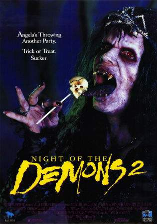 Night of the Demons 2 1994 BRRip 300Mb Hindi Dual Audio UNRATED Watch Online Full Movie Download bolly4u