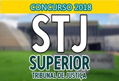 concurso do STJ 2018