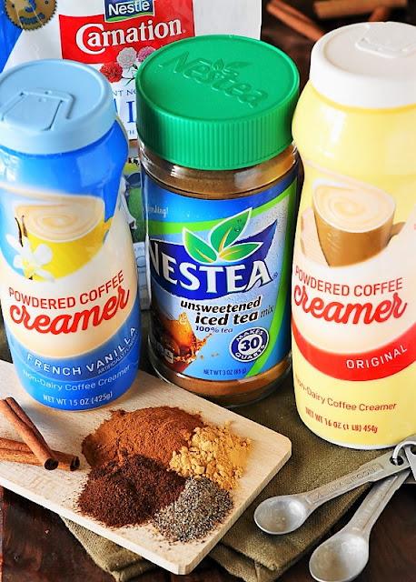 Ingredients to make Homemade Chai Tea Latte Mix image
