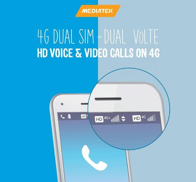 MediaTek launches Dual 4G VoLTE Solution