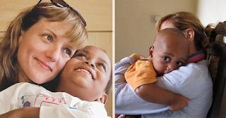 Η Μαρία είναι η πρώτη Ελληνίδα που υιοθέτησε παιδί από την Αιθιοπία