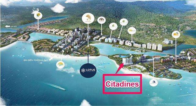 Vị trí dự án Citadines Bãi Cháy
