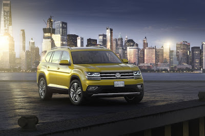 Volkswagen Atlas 2018 Reviews, Specs, Price