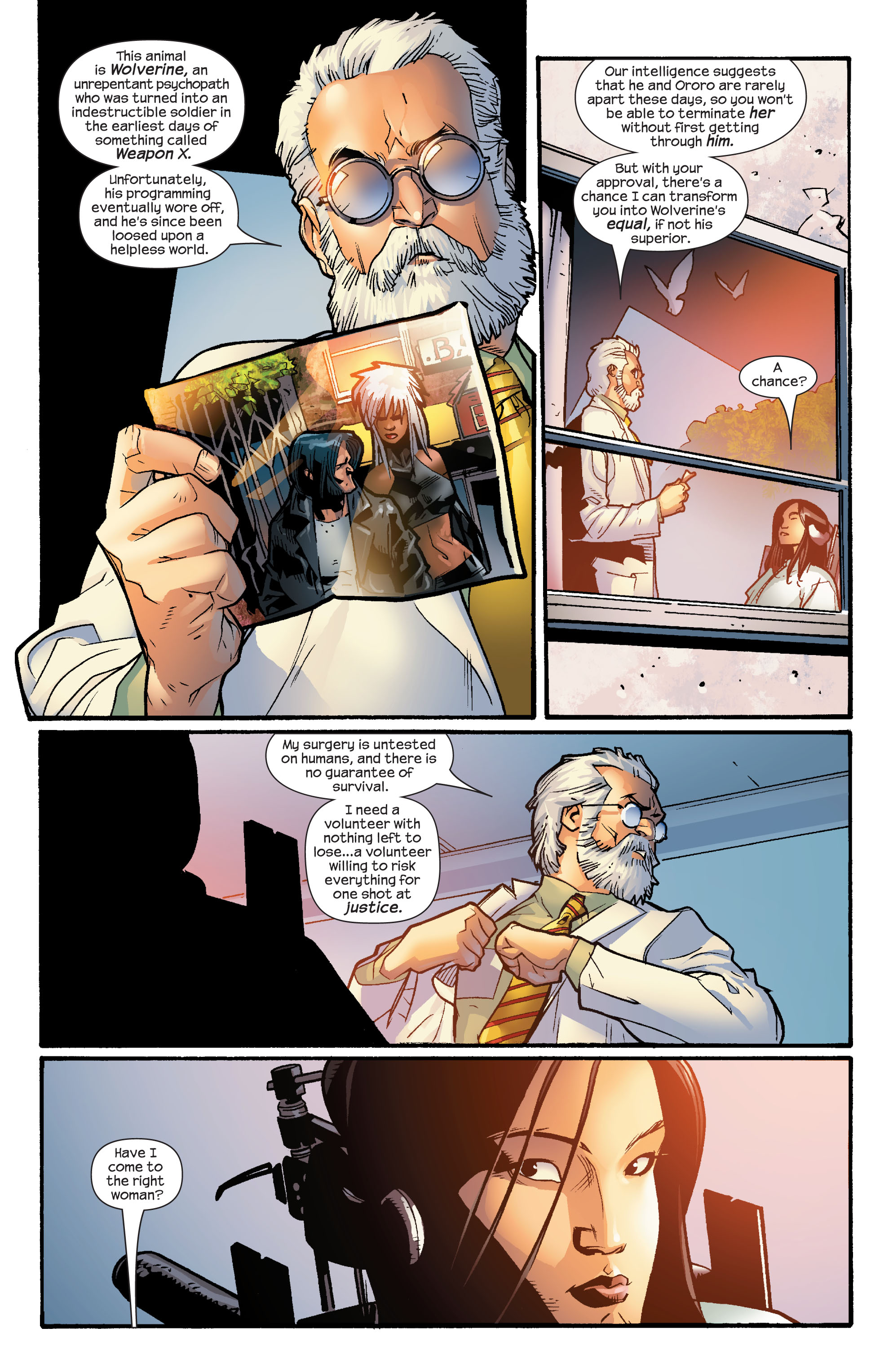 Read online Ultimate X-Men comic -  Issue #60 - 5