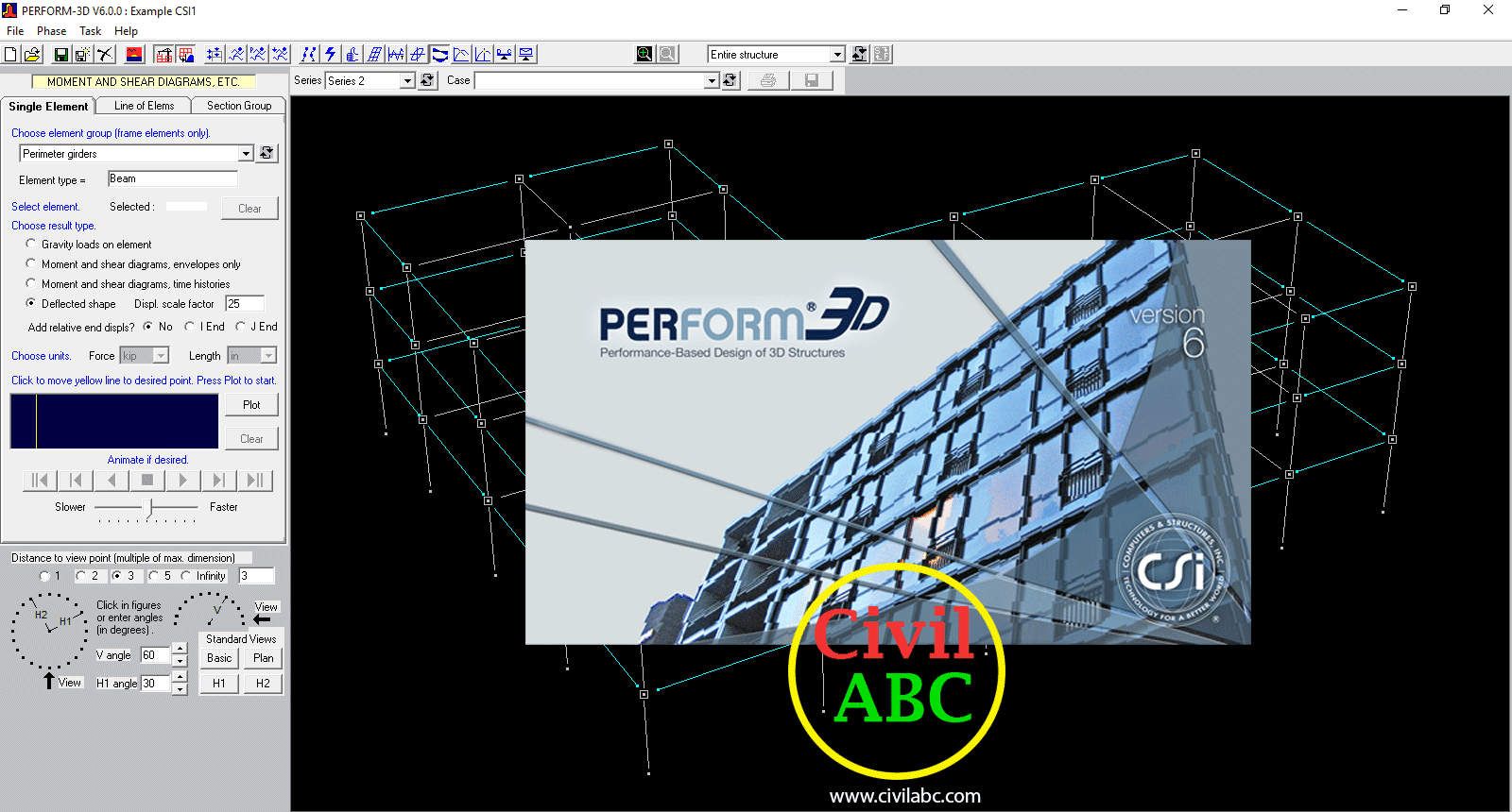 CSI PerForm-3D v6 0 0 (x86/x64) Free Download - Civil