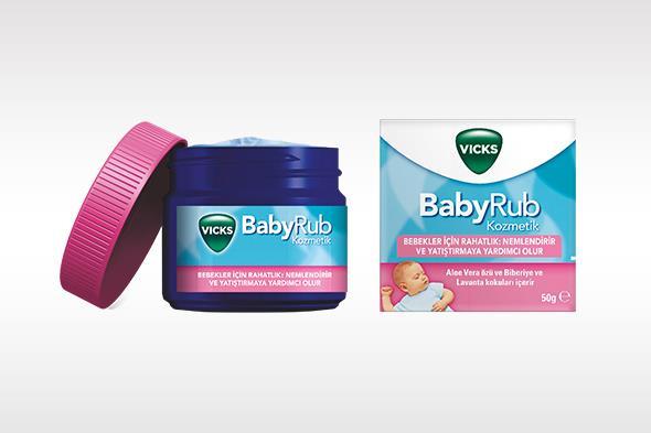 Vicks BabyRub Bebeklerde Kullanımı ve Faydaları