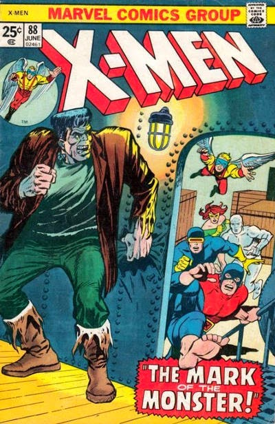 X-men #88, the Frankenstein Monster