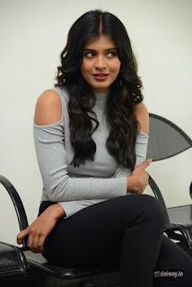 Hebba Patel Stills at Angel Movie Opening