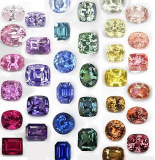 Màu của đá Sapphire