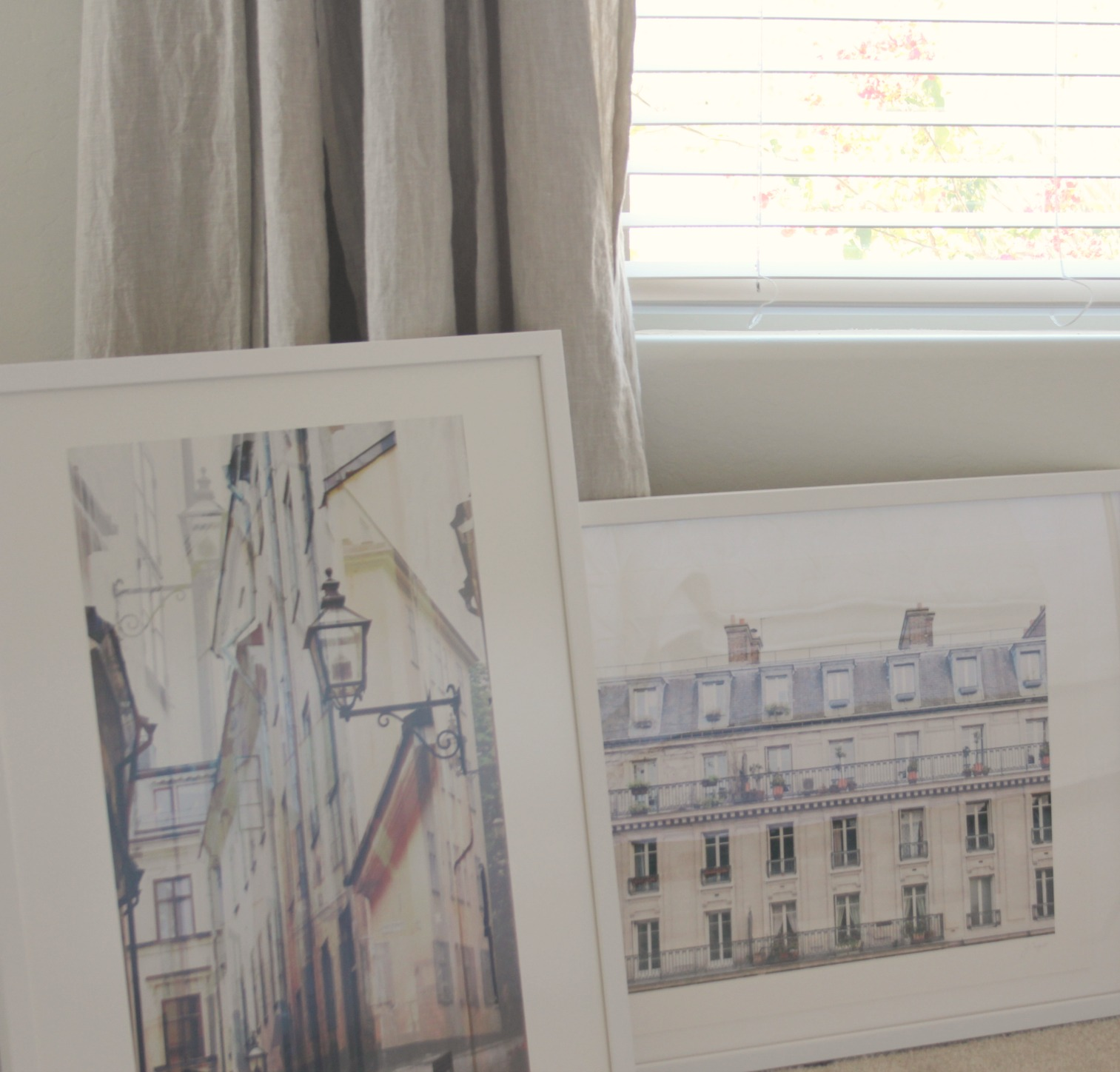 Paris and Stockholm art print from Minted at Hello Lovely's Arizona Fixer Upper