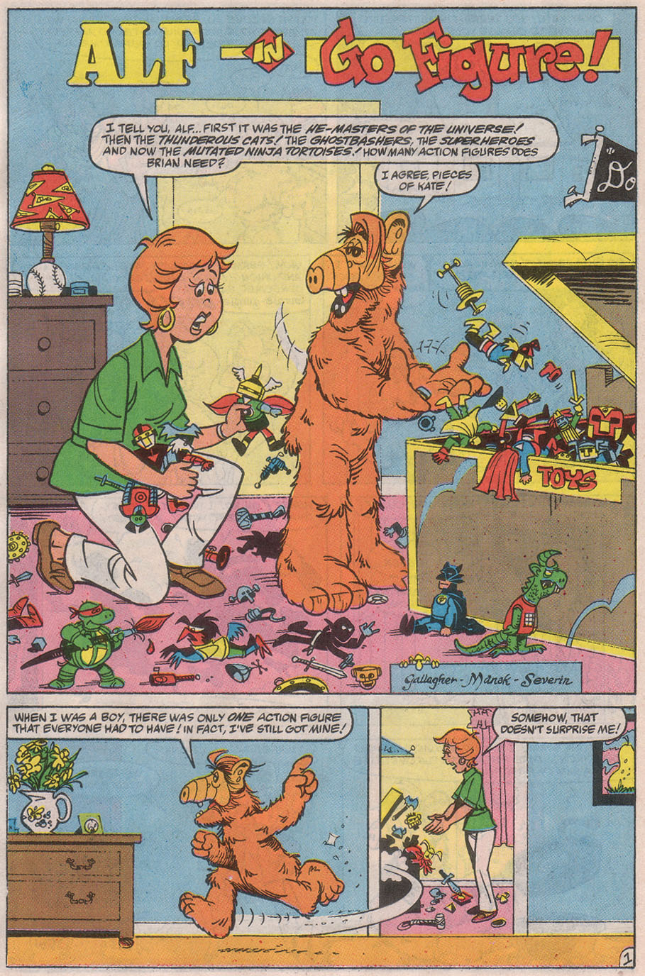 Read online ALF comic -  Issue #32 - 16