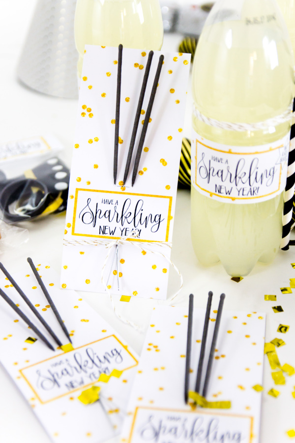 Party DIY Freebies: Drei tolle Printables für die beste Silvesterparty ever! New years eve  - titatoni.de