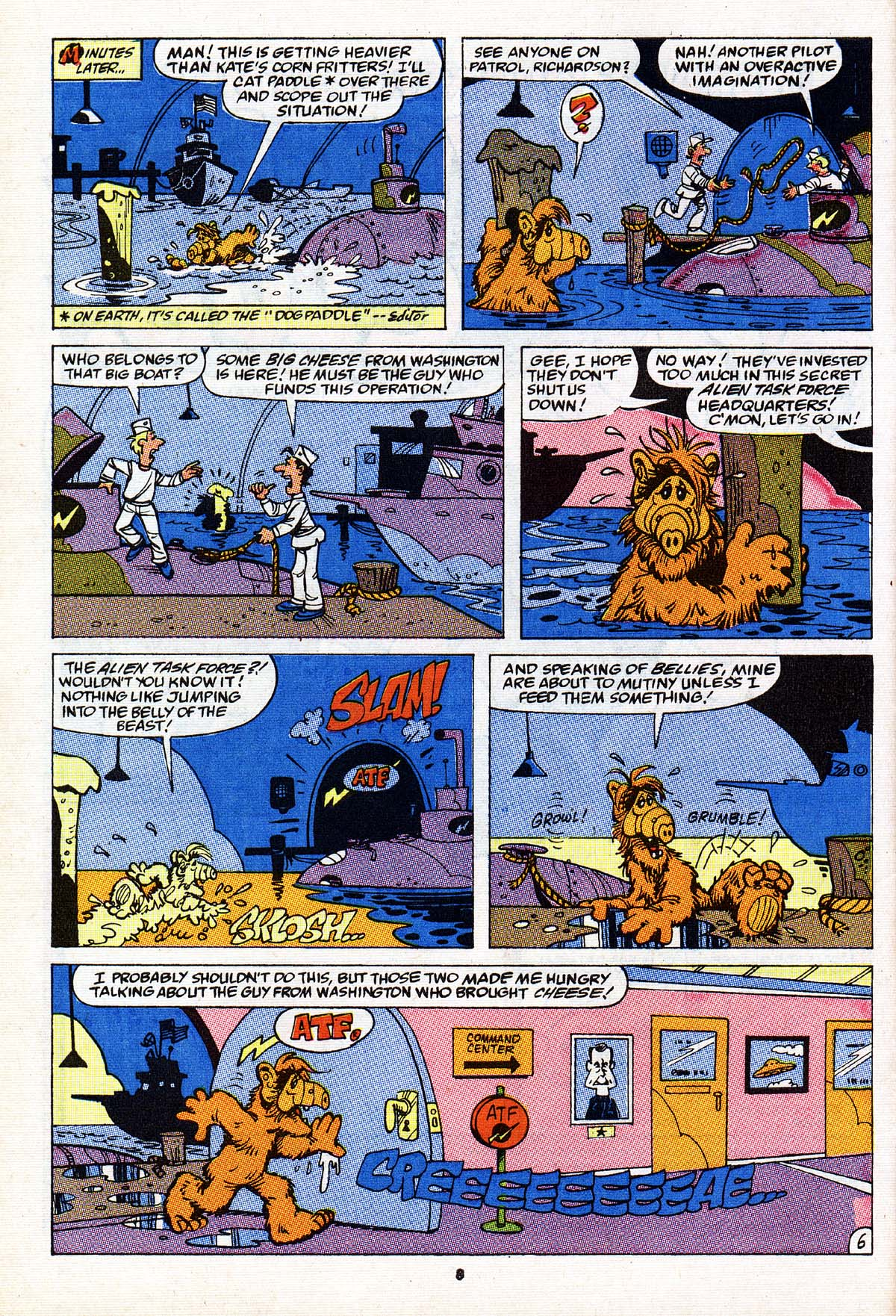 Read online ALF comic -  Issue #27 - 7