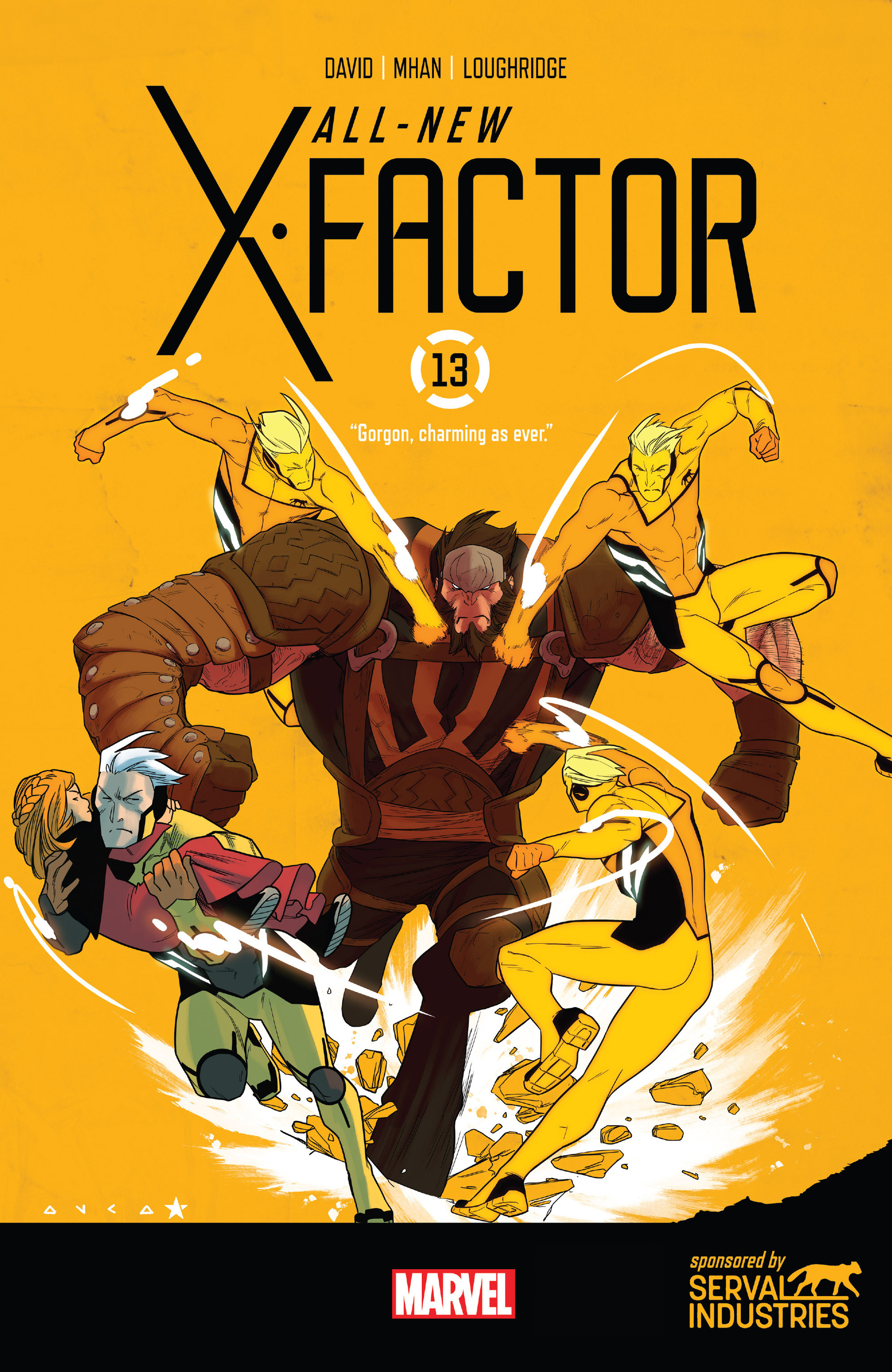 Read online All-New X-Factor comic -  Issue #13 - 1