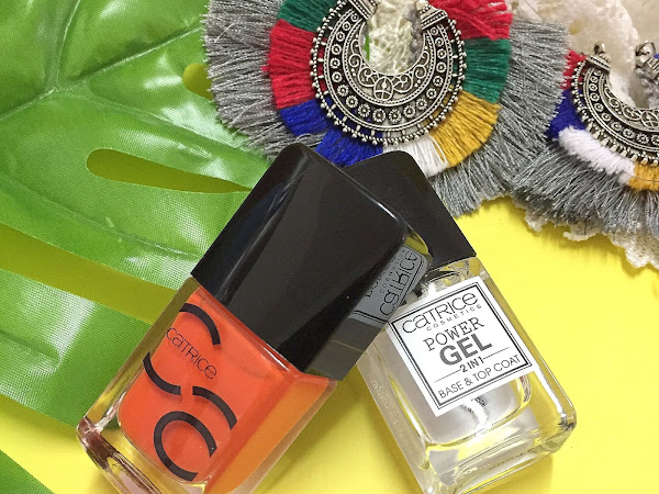 Catrice ICONails Gel Lacquer and Power Gel 2 in 1 base/top coat