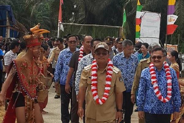 Selalong Wakil Sekadau Hilir Lomba Desa Tingkat Kabupaten Sekadau Tahun 2018