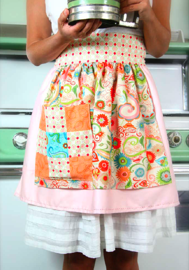 Stash Happy Vintage Apron