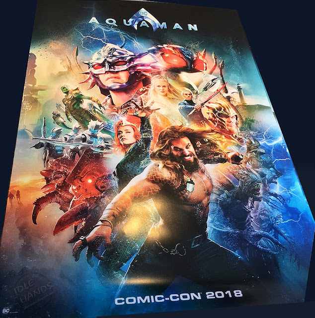 SDCC 2018 Warner Bros DC Comics Aquaman Comic-Con Poster