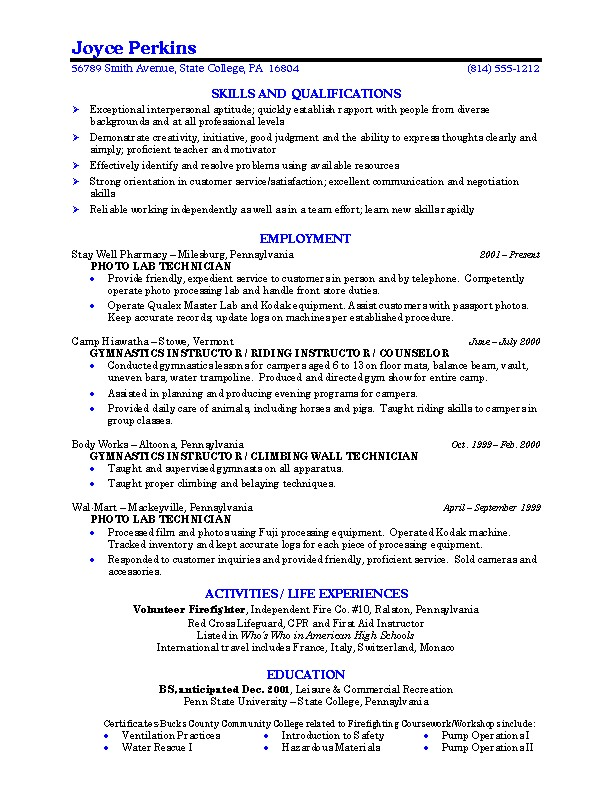 General Resume Guaranteed Resumes Guaranteed Interviews U0026