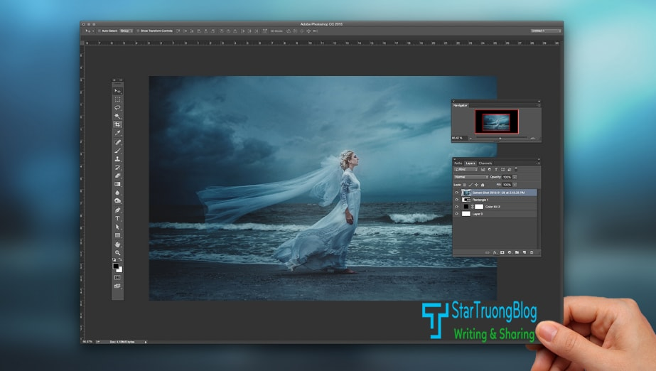 Tự học Photoshop với 6 bộ giáo trình bằng Tiếng Việt