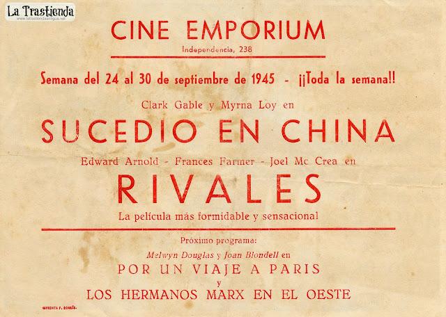 Rivales - Programa de Cine - Edward Arnold - Frances Farmer