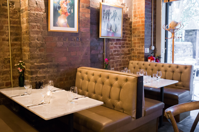 Petit Pois restaurant Hoxton