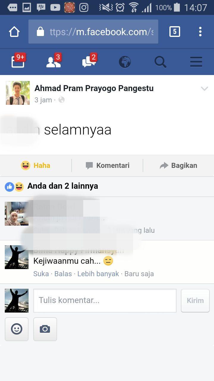 Facebook dibajak
