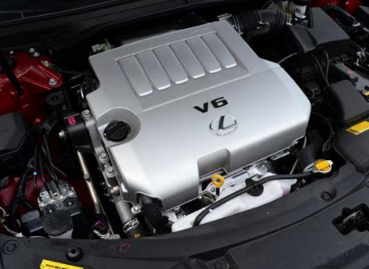 2017 Lexus LS 460 Engine