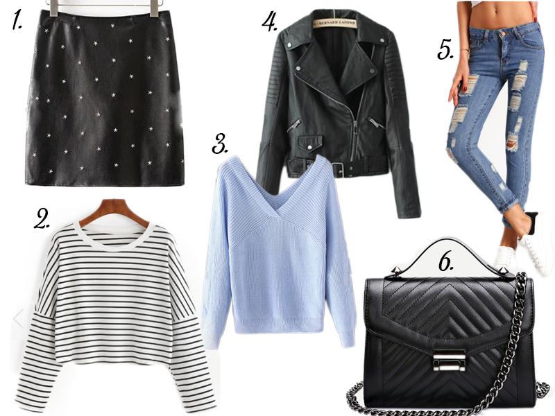 Basic clothes | Wishlist Romwe