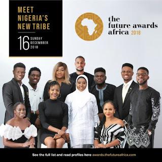 Ahmed Musa, Davido, Bisola Aiyeola, Maraji Make The Future Awards Africa 2018 Nominees list
