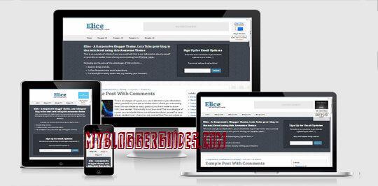 Elice Blogger Template, Best SEO Optimized Blogger Template, AdSense Friendly Blogger Template
