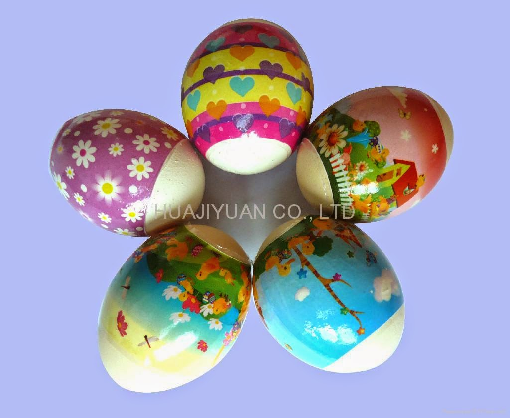easter egg cute floweer pattern decoration