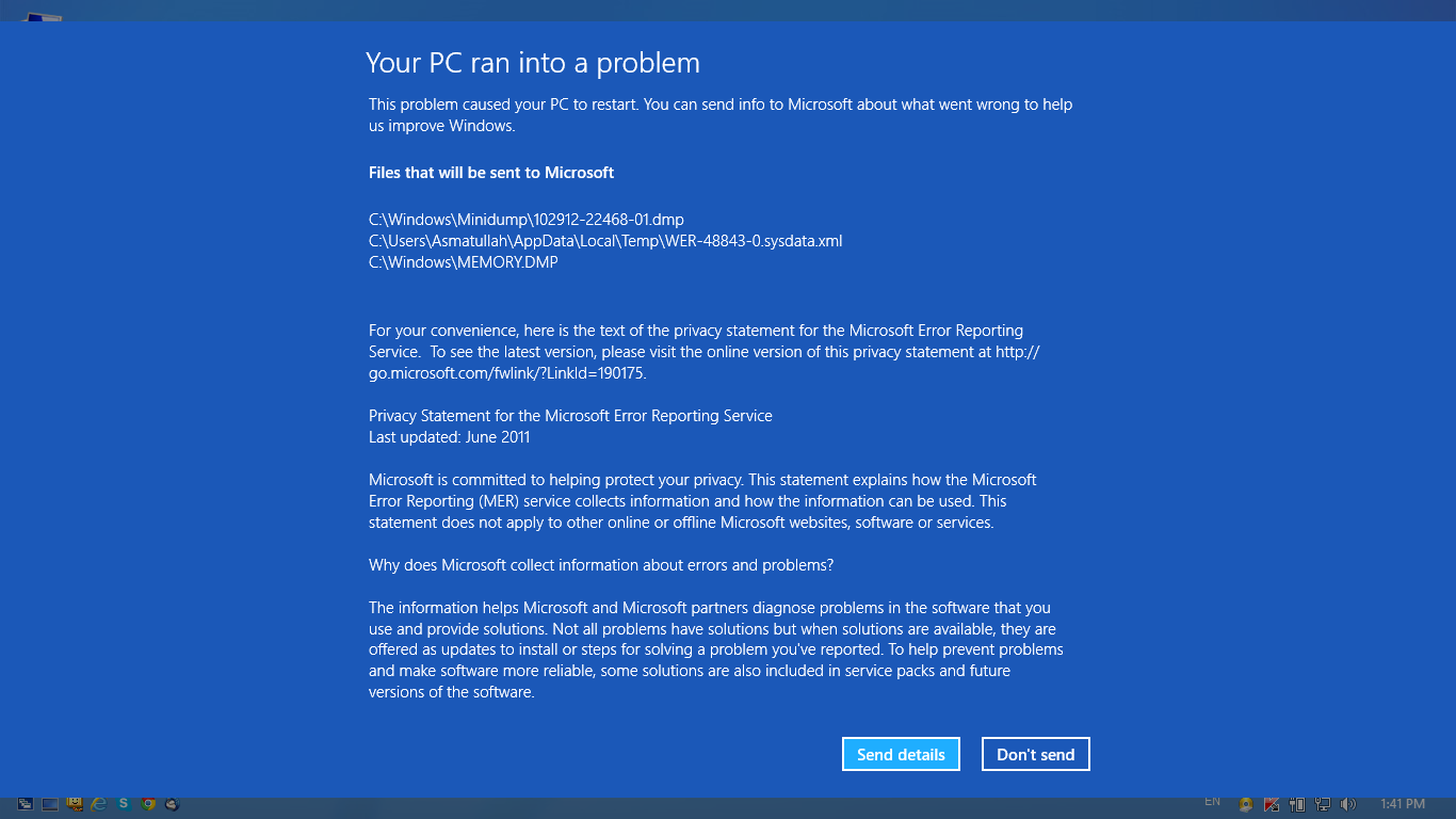 how to fix a crashed computer windows 7