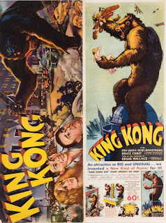 King Kong press pack as designed and illustrated by Keye Luke