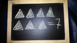 Contiamo i triangoli fino a 7
